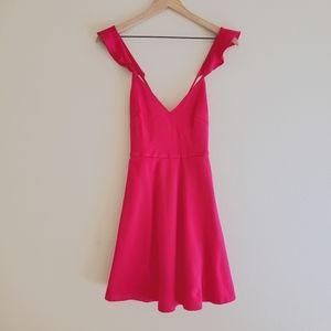 Love Culture Hot Pink Mini Dress